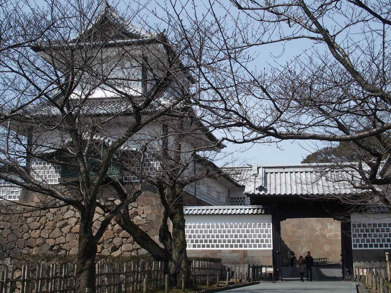 金沢の観光スポット金沢城公園