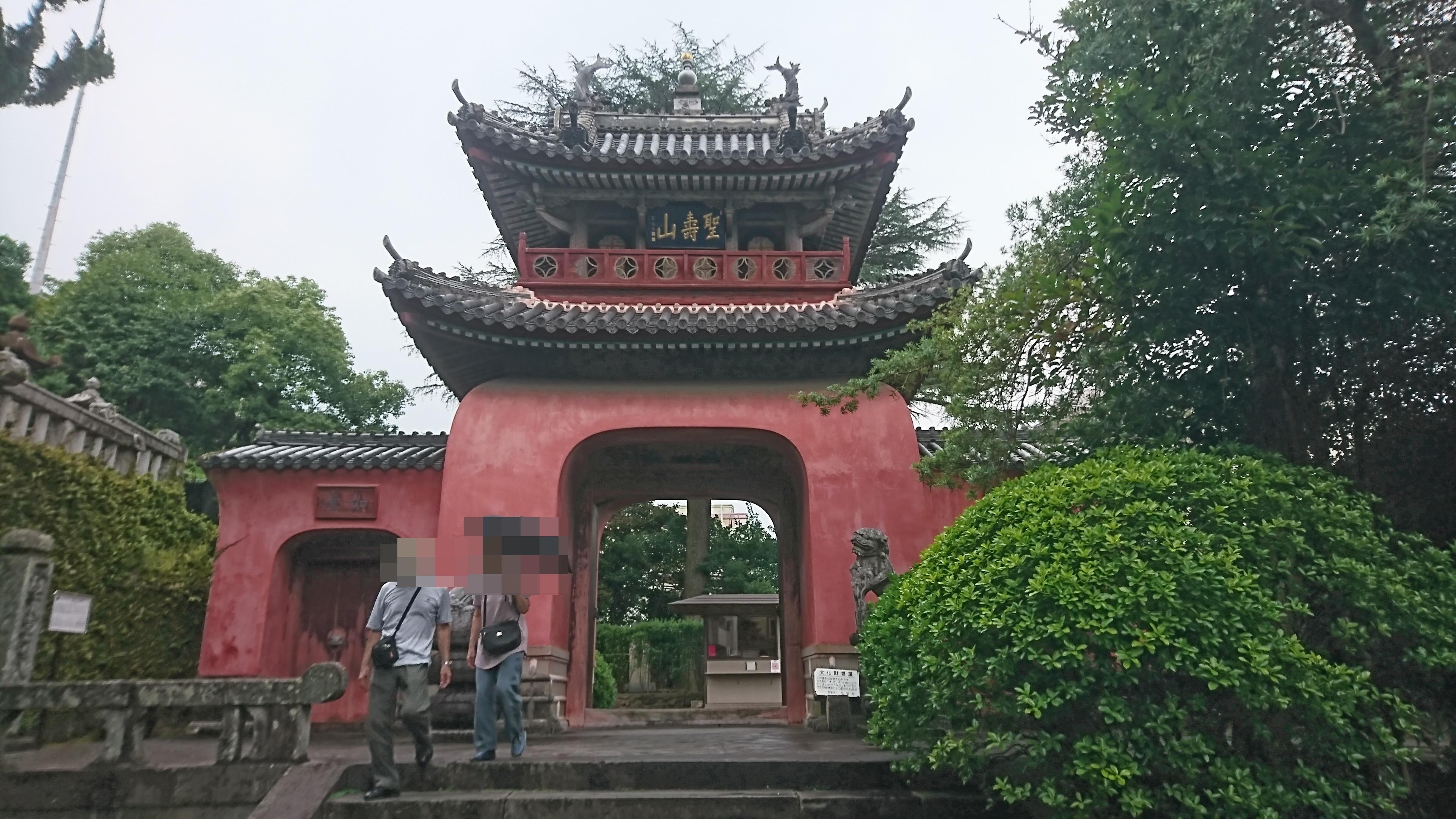 長崎で龍馬伝の舞台になった崇福寺