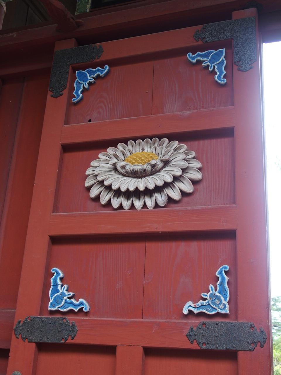 長崎の崇福寺の国宝第一峰門