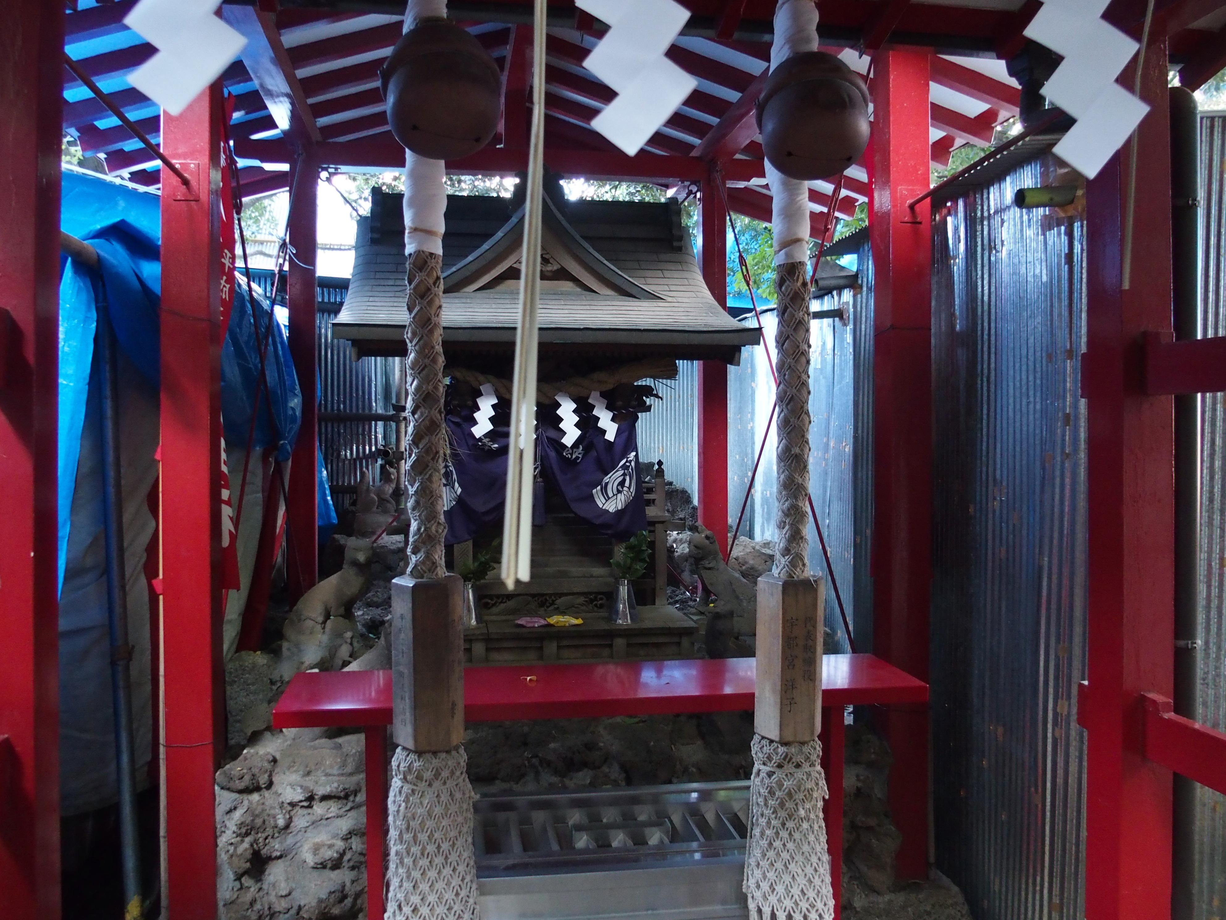 花園神社の子宝と縁結びと夫婦和合のご利益がある威徳稲荷神社