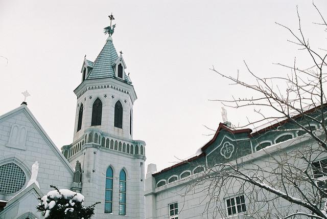 函館のカトリック元町教会