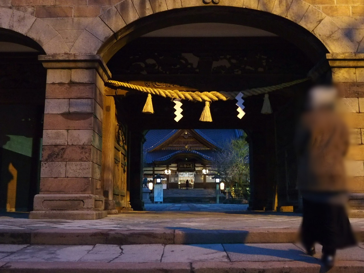 金沢のパワースポット尾山神社