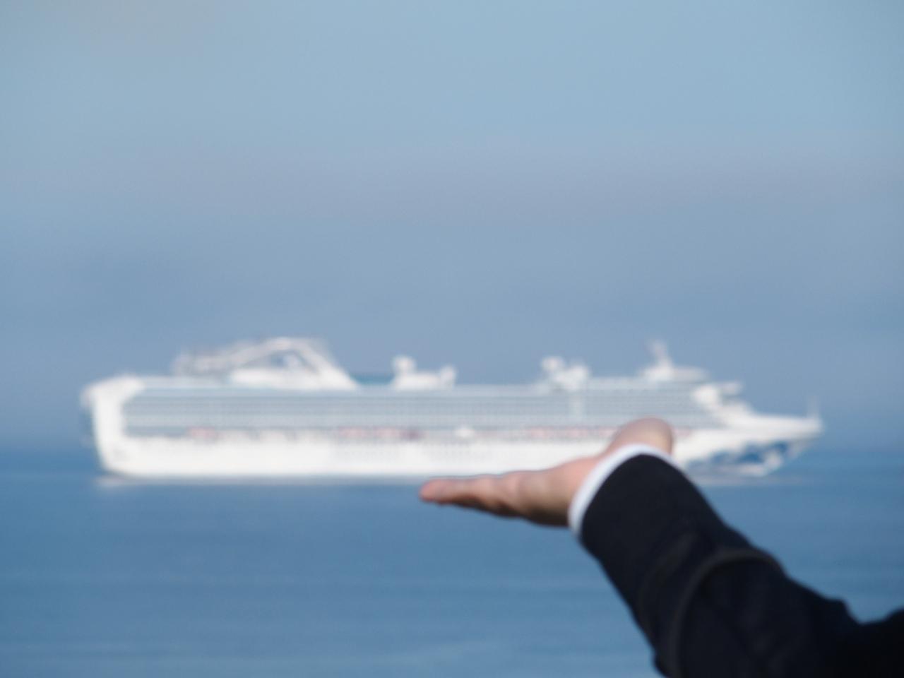 ダイヤモンドプリンセスで寄港したコルサコフの観光で立ち寄った展望台