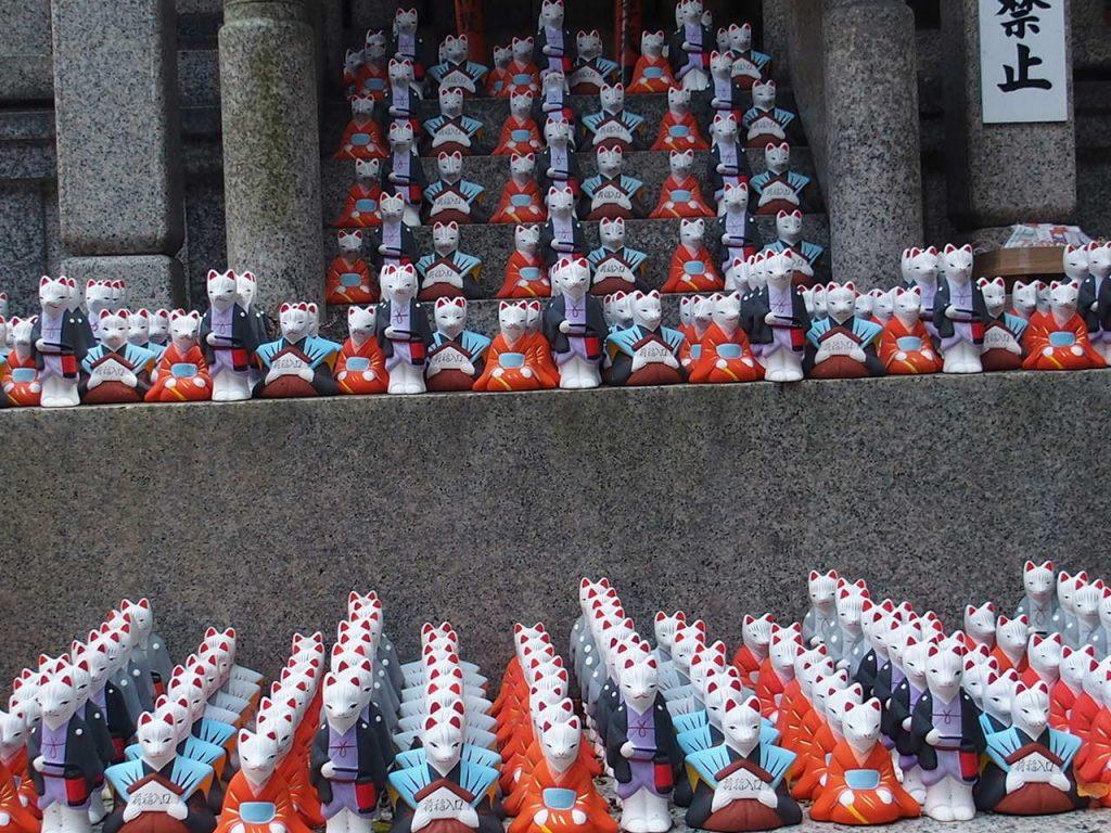 伏見稲荷大社の近く縁結びがご利益の荒木神社