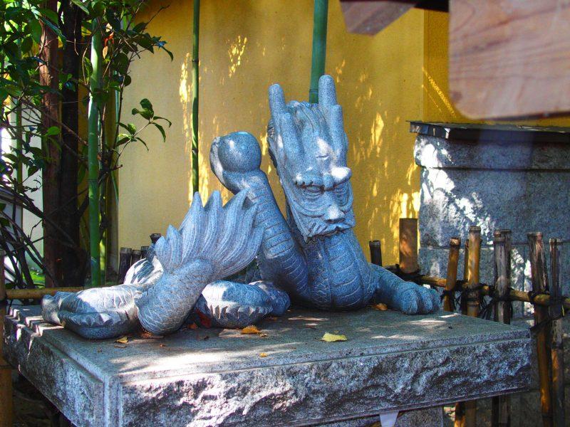 田無神社の白龍神