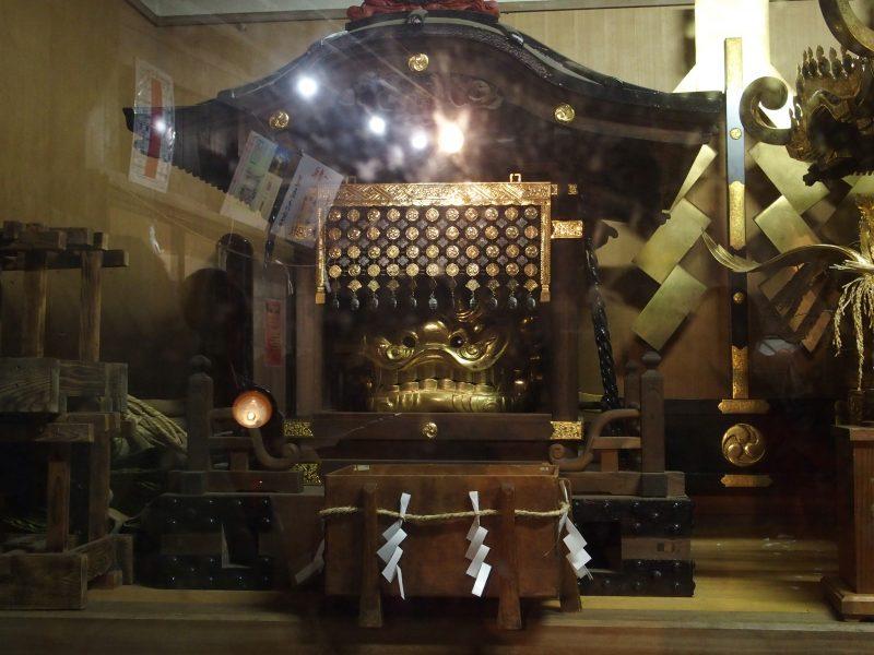 田無神社のおみこし