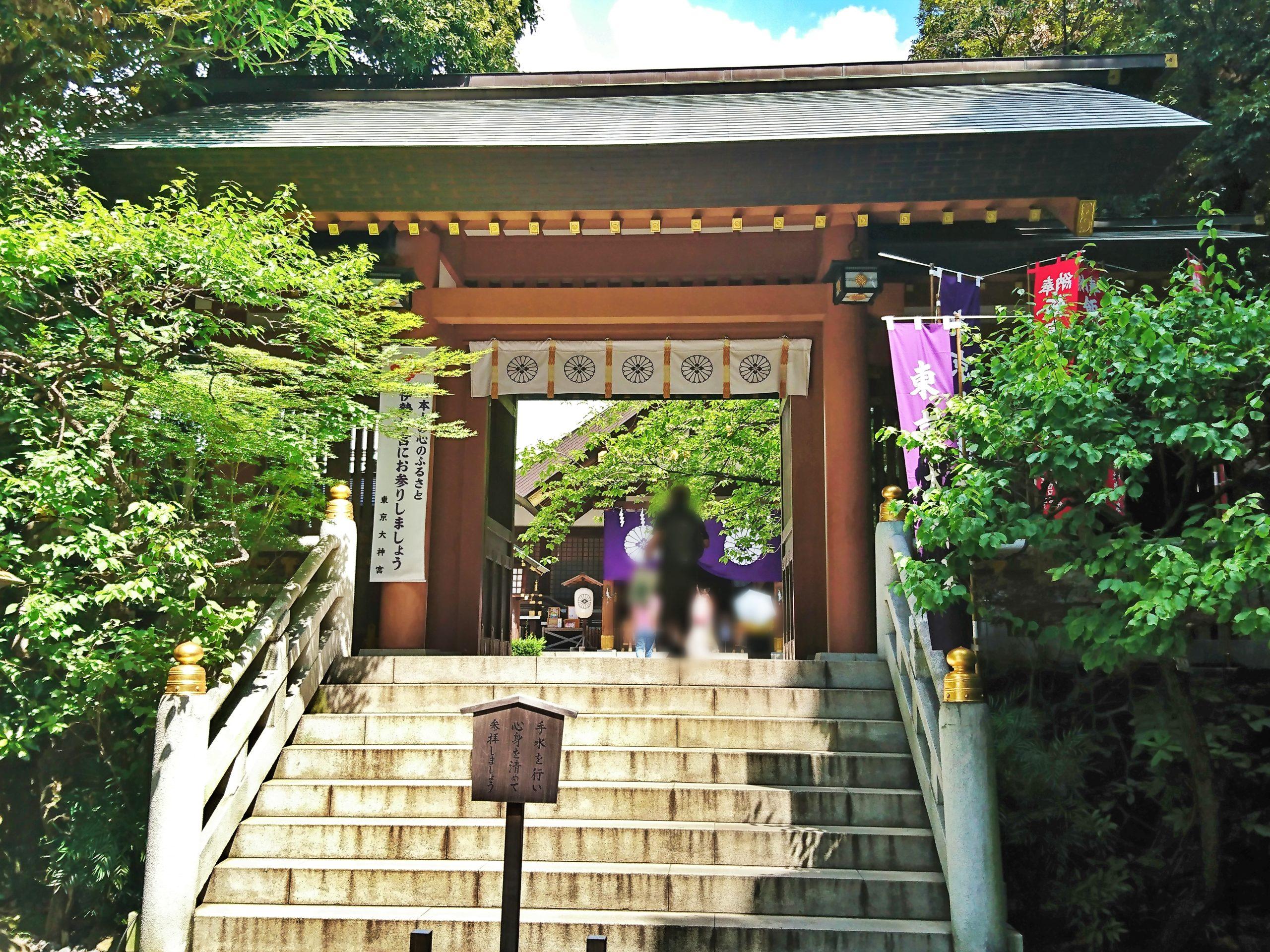 東京大神宮の神門