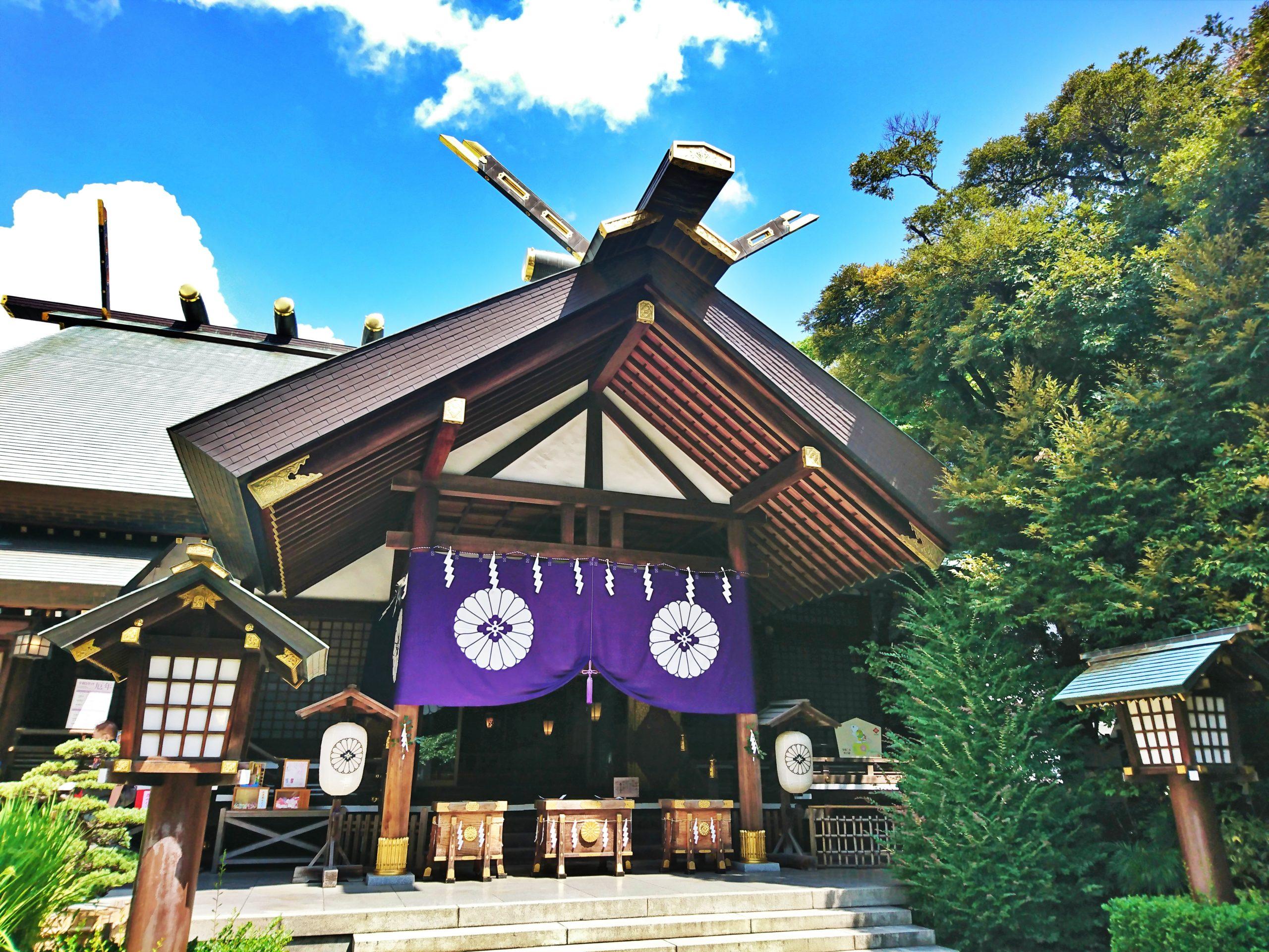 復縁のご利益で知られる東京大神宮