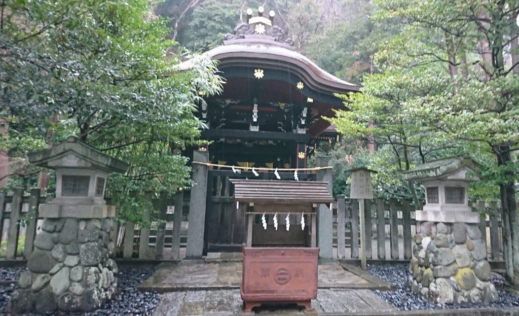 鶴岡八幡宮の白幡神社