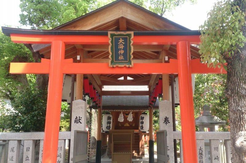 生田神社の大海神社のご利益は方向指南