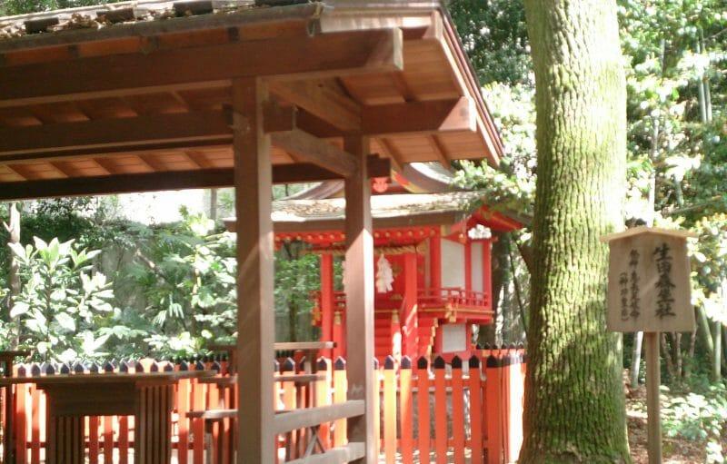 神戸三宮にある生田神社で安産・子授けのご利益がある生田森坐社