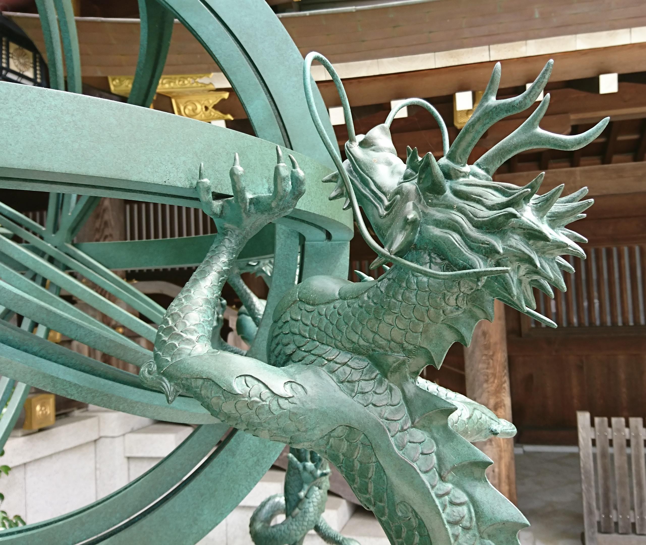 寒川神社の渾天儀