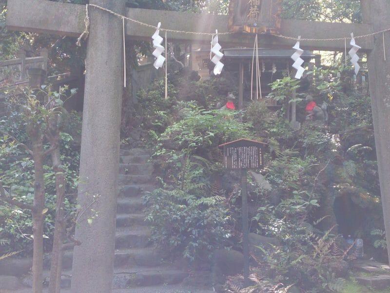 赤坂氷川神社の火伏せのパワースポット西行稲荷神社