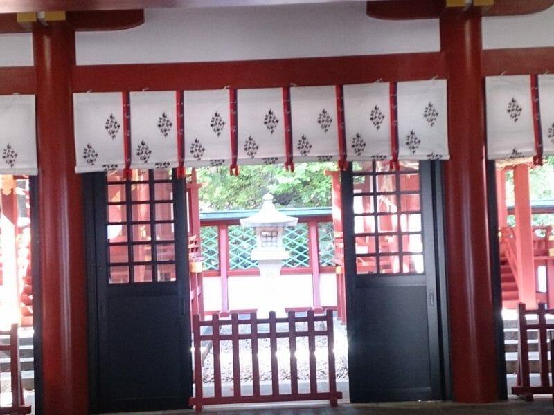 赤坂山王日枝神社のご本殿