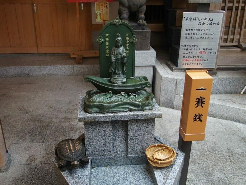日本橋小網神社の東京弁財天