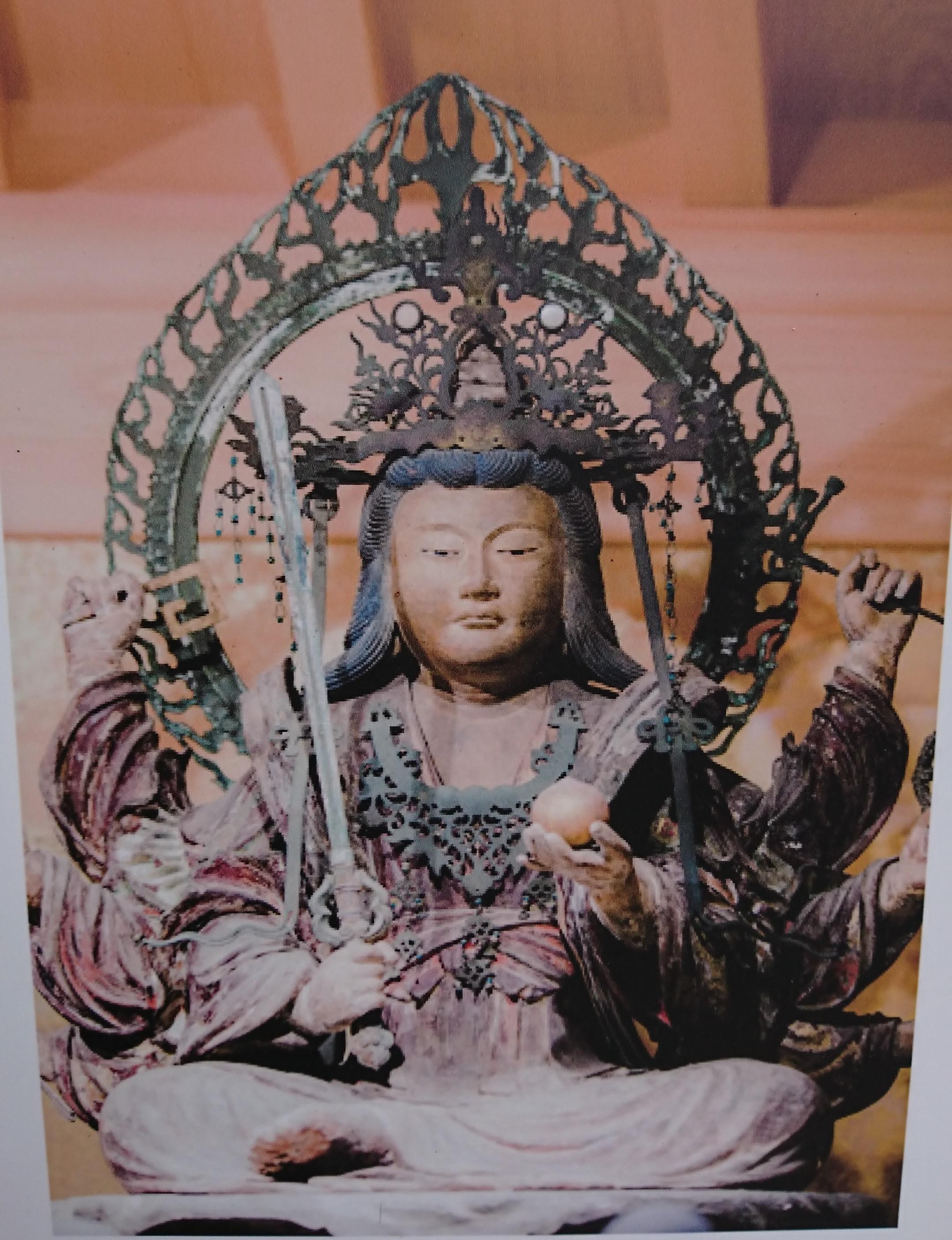 江ノ島神社の八臂弁財天
