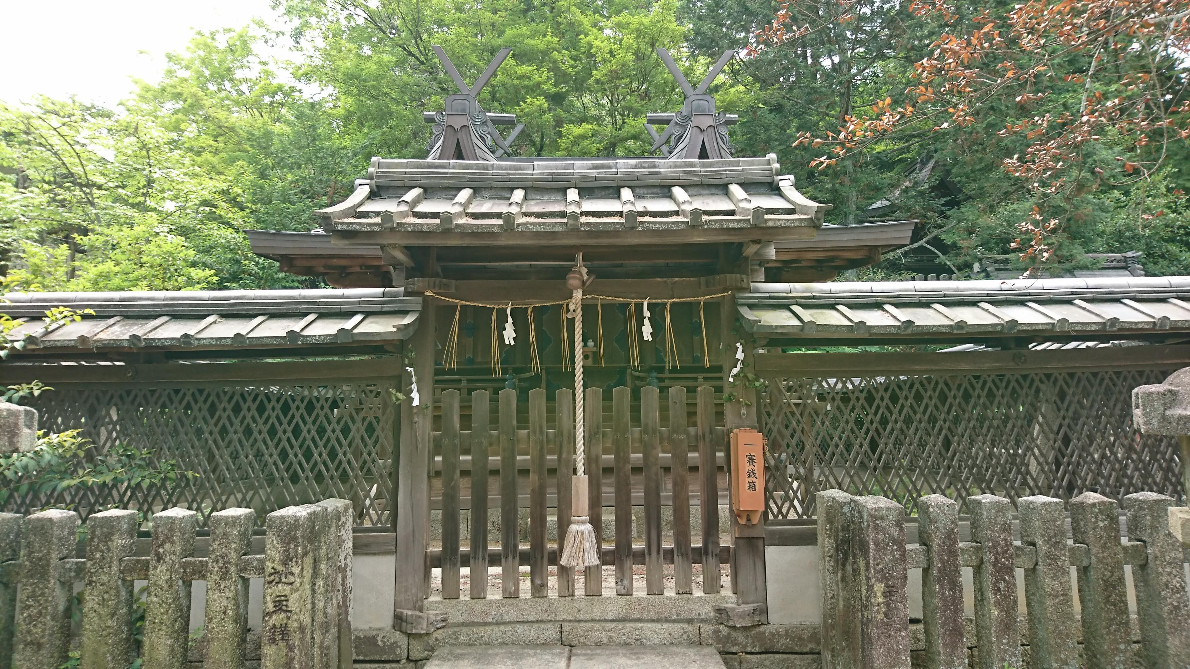 京都今宮神社にある若宮社