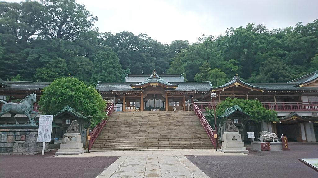 縁結びのご利益のある長崎の諏訪神社