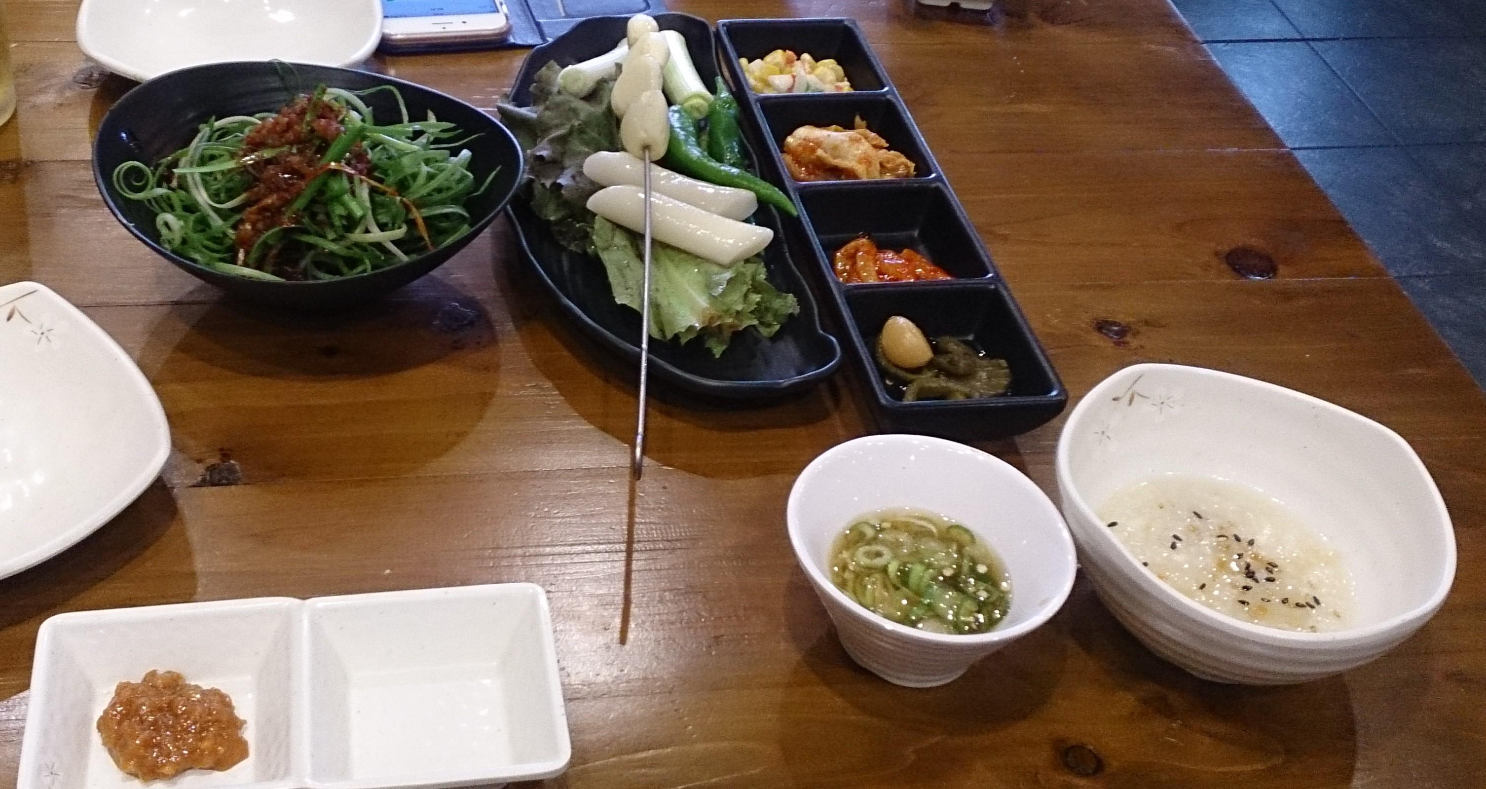 釜山の焼肉