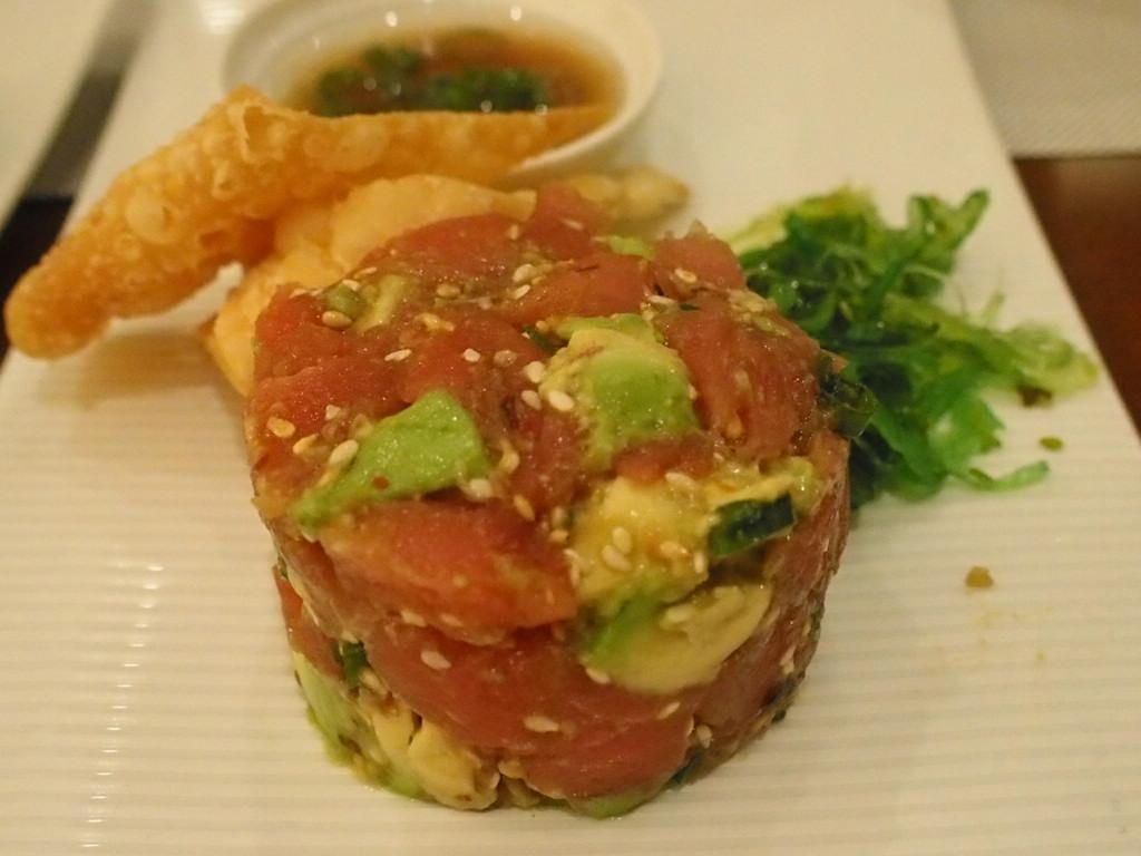 ダイヤモンドプリンセスの寿司レストラン海のアヒポキ