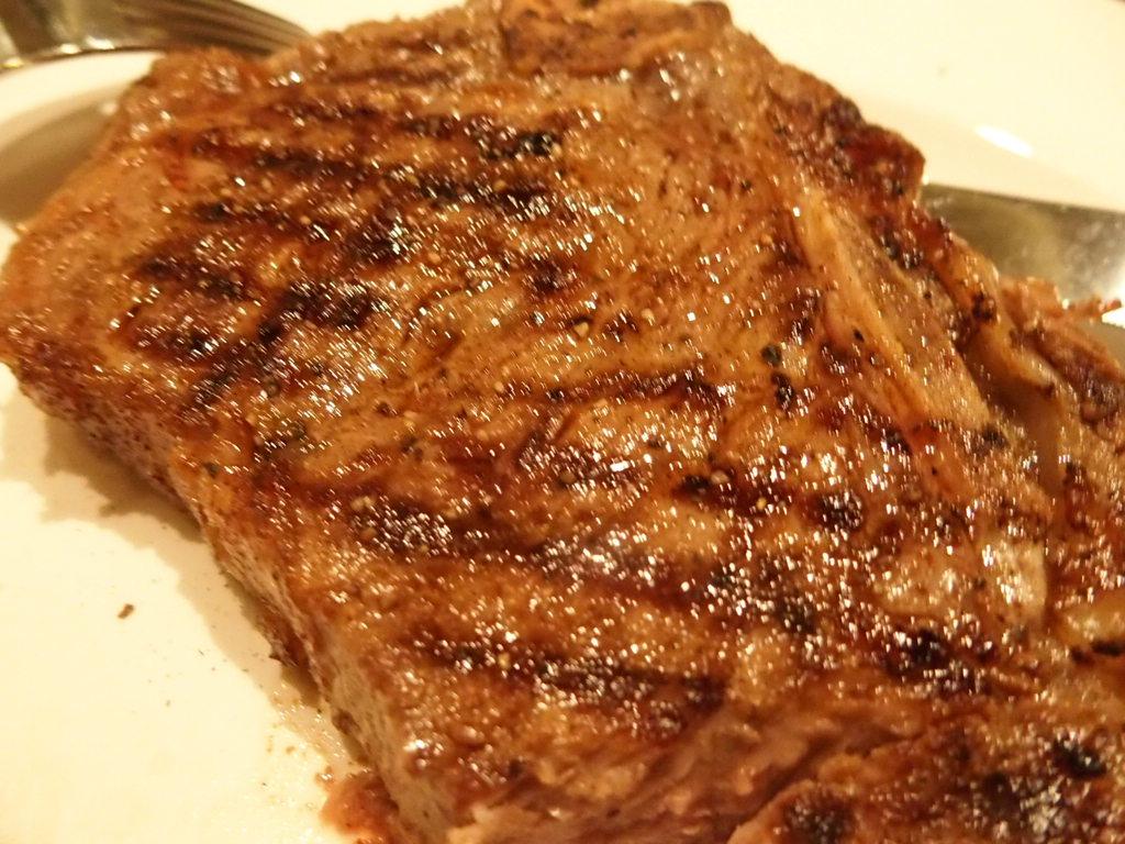 ダイヤモンドプリンセスのステーキハウスのお肉