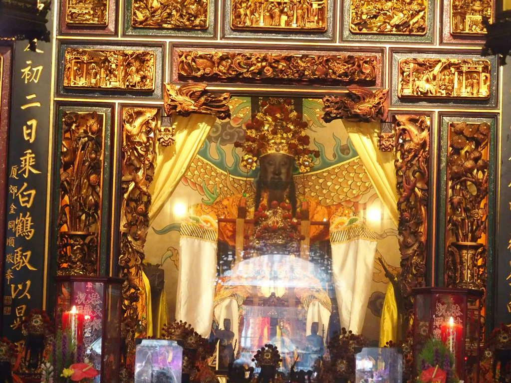 台北三大廊のひとつ大龍峒保安宮