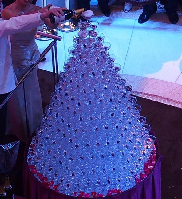 ダイヤモンドプリンセスのカクテルパーティ
