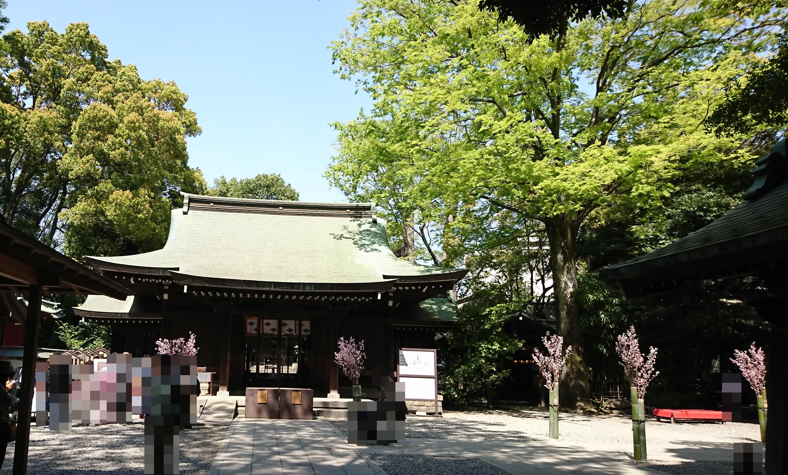 縁結びの神様川越氷川神社