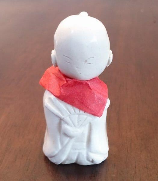 京都清水寺で授与出来る善光寺の首振り地蔵のお守り