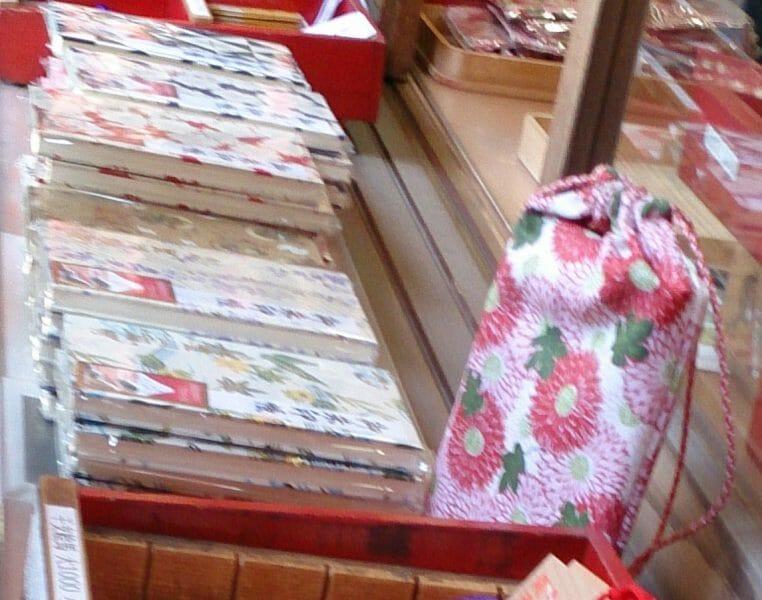 豊川稲荷東京別院の御朱印帳と御朱印袋が人気です