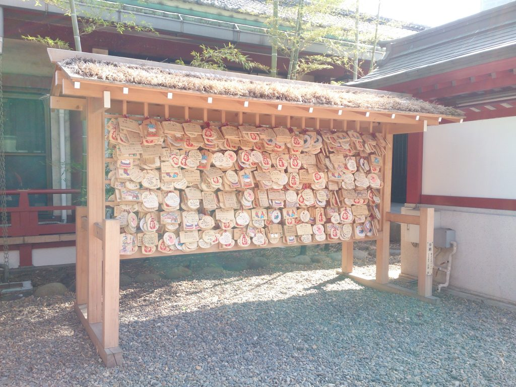 日枝神社に奉納された絵馬