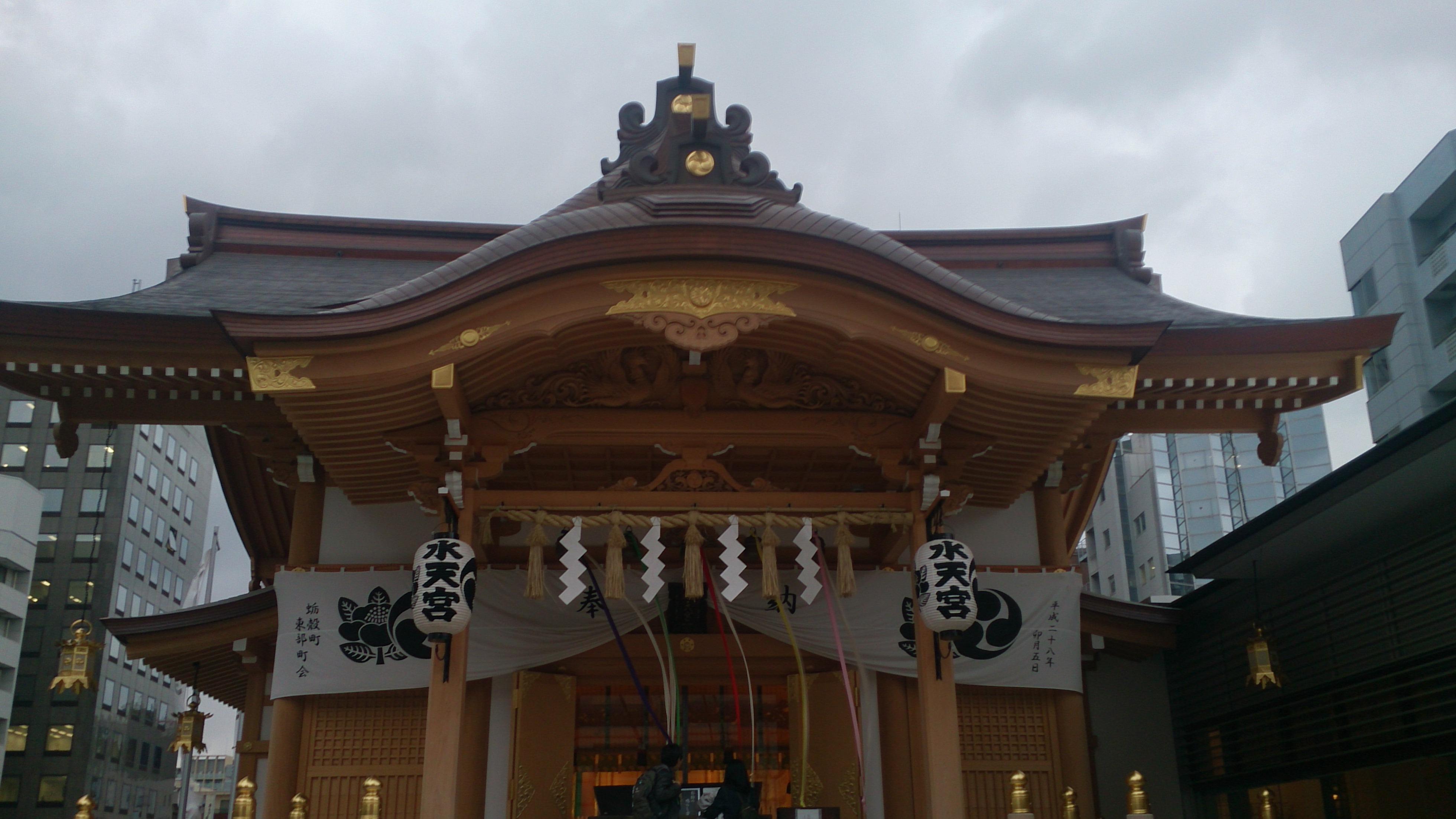 東京日本橋の水天宮