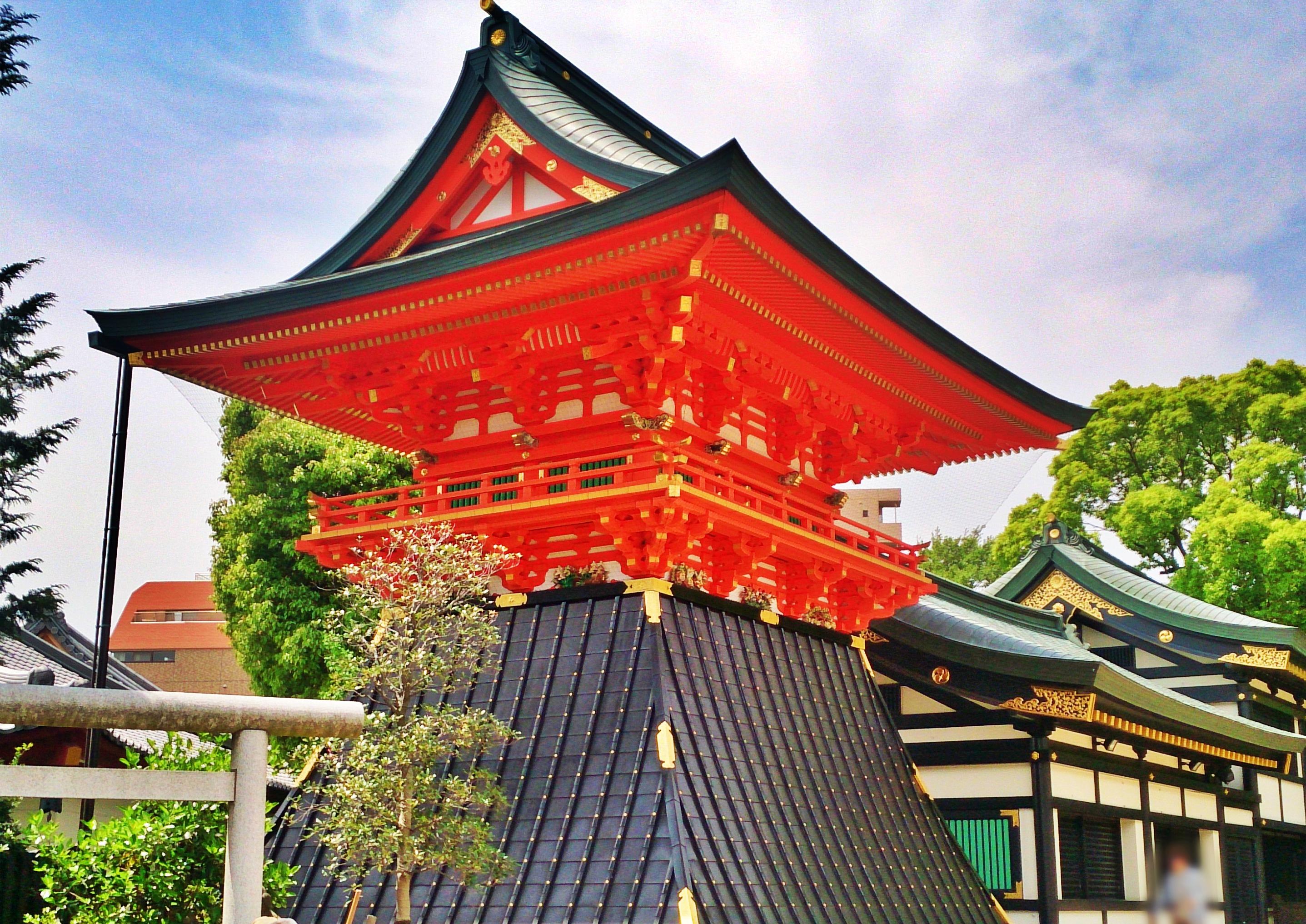 早稲田のパワースポット穴八幡宮