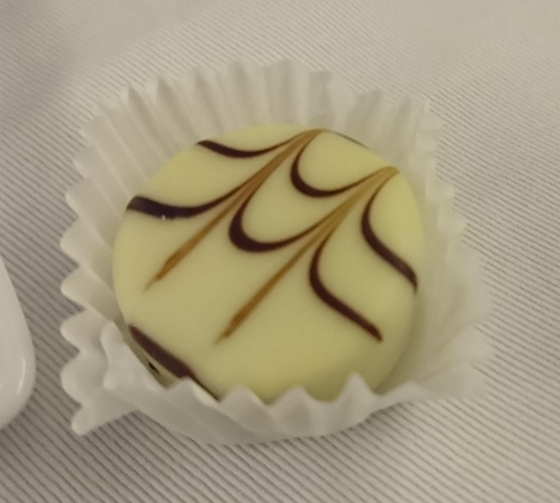 ANAビジネスクラスで出されたチョコレート