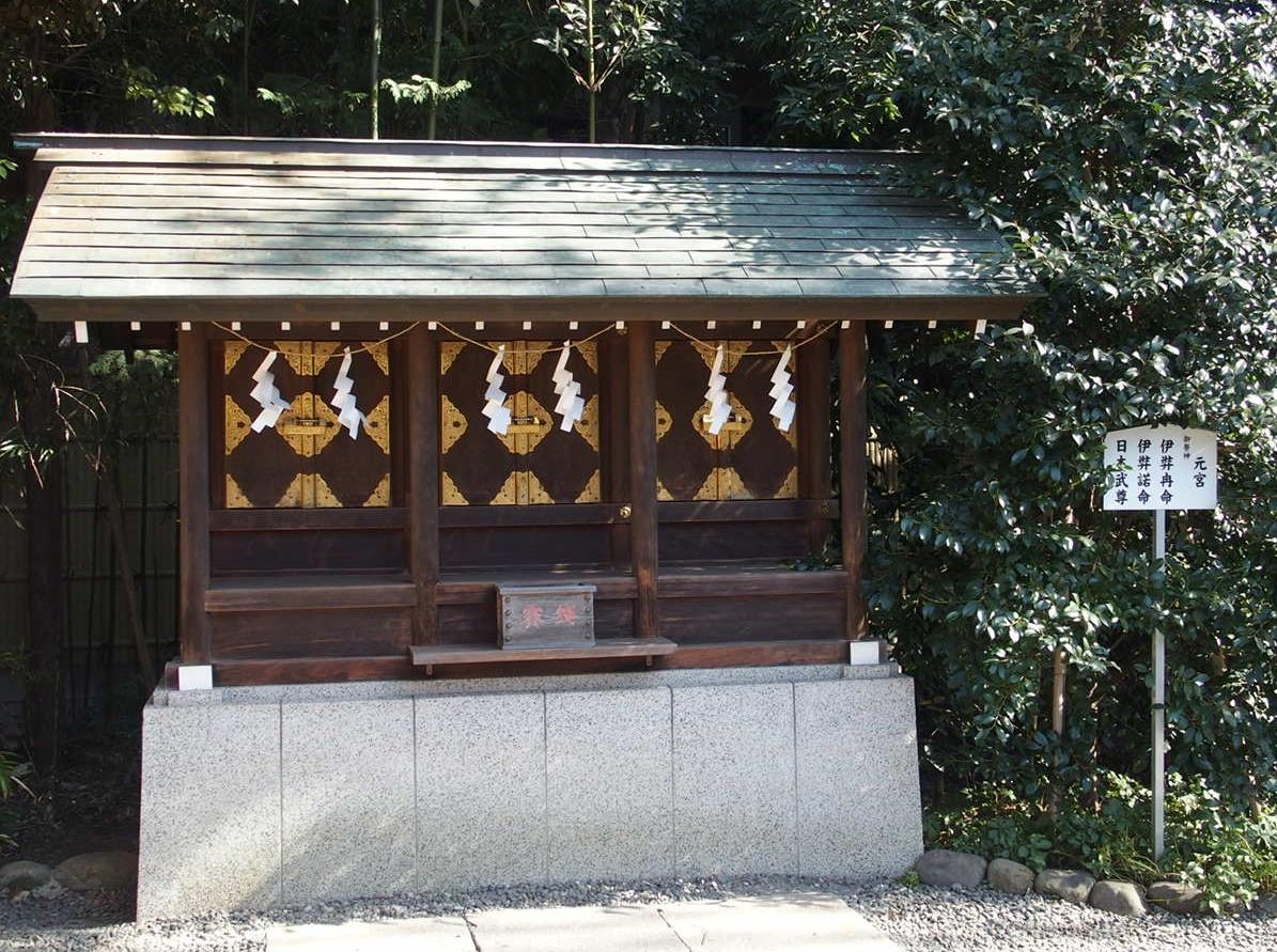 阿佐ヶ谷神明宮の縁結びのパワースポット