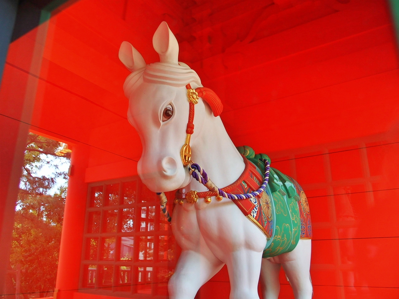 早稲田のパワースポット穴八幡宮の神馬