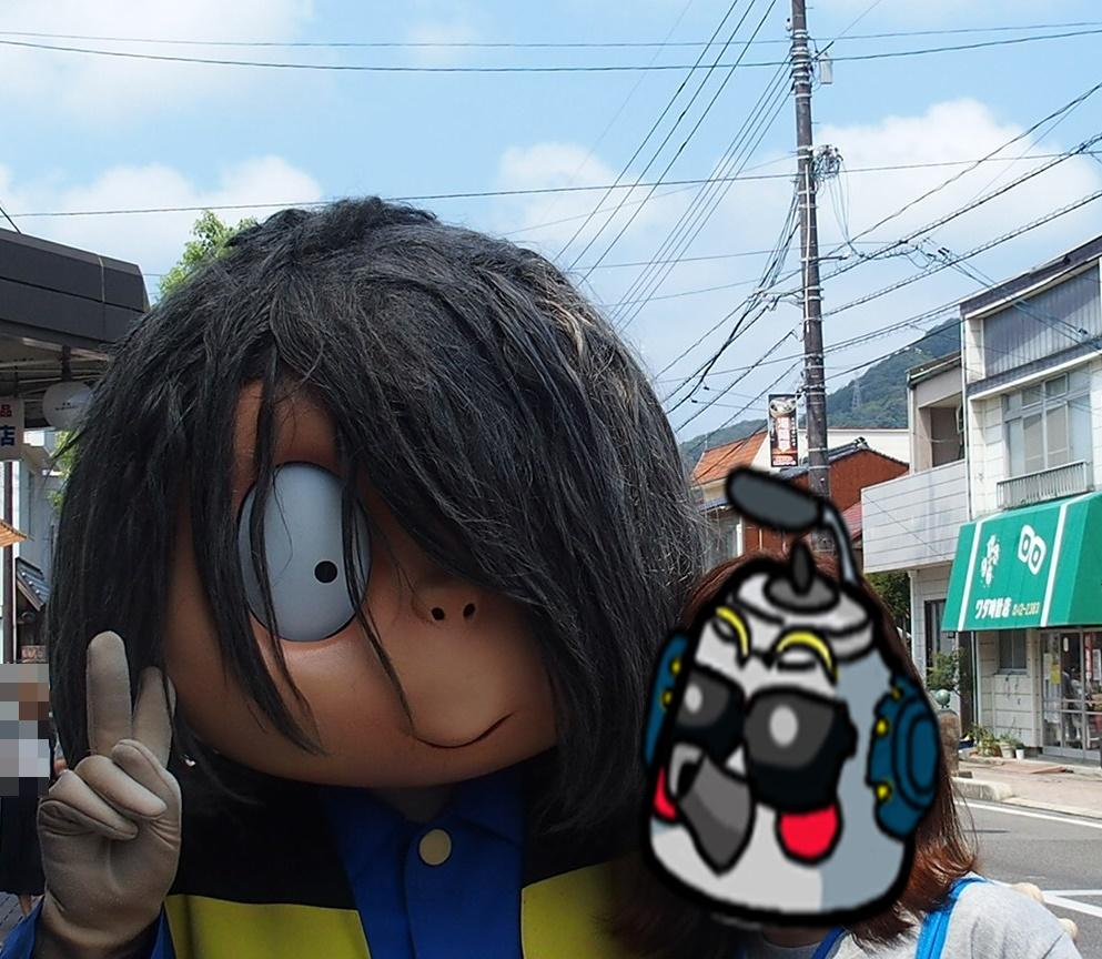 境港で鬼太郎に出会う