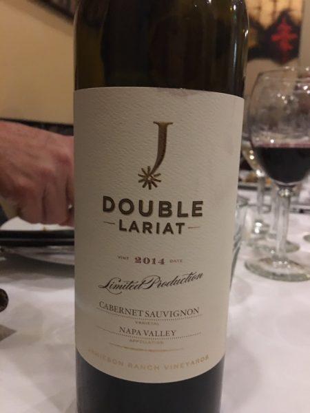 ナパバレーのおすすめレストランリストランテアレグリアのワイン
