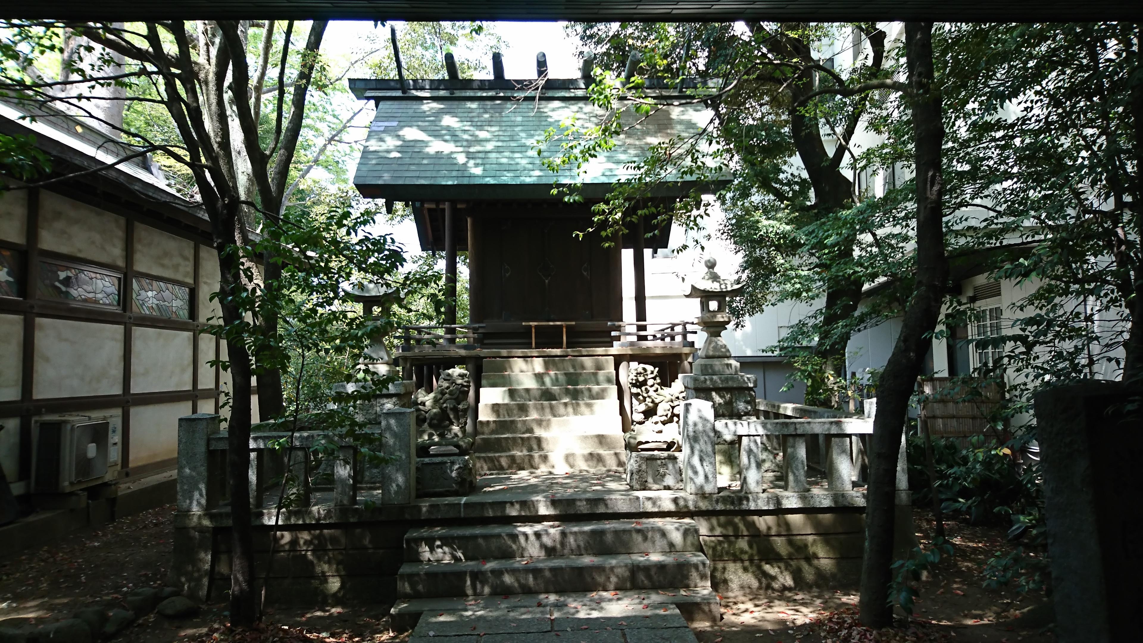川越氷川神社にある護国神社