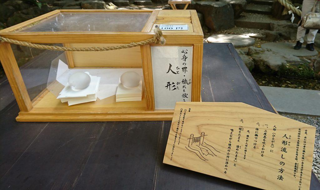 川越氷川神社の人形流し
