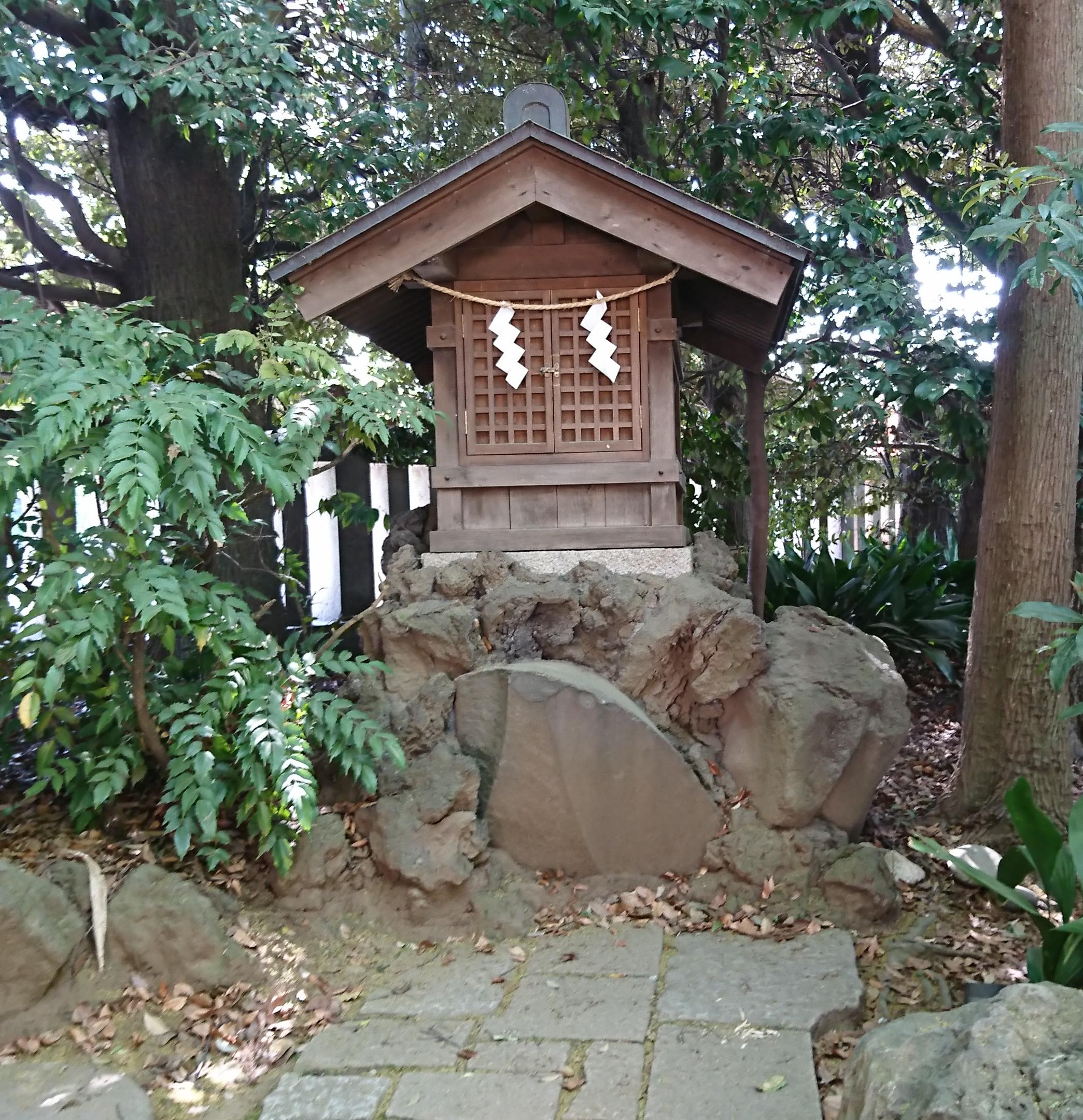 川越氷川神社の水神社