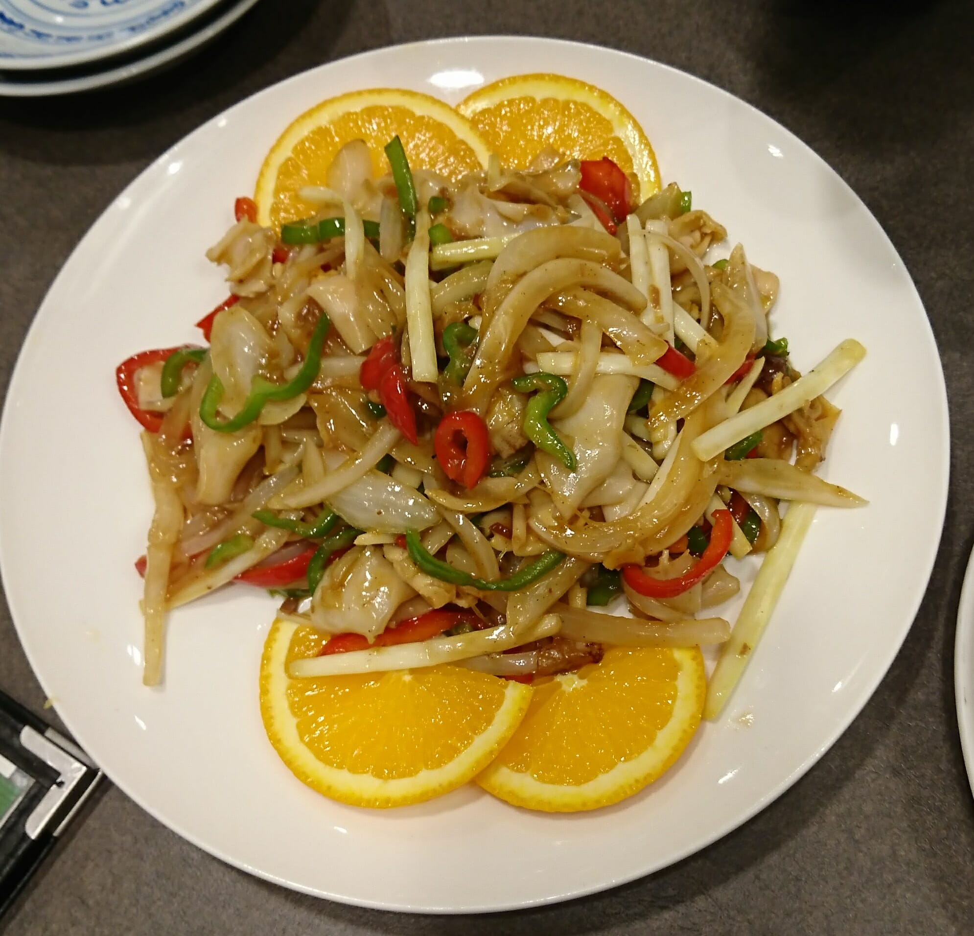 神戸の老舗中華料理群愛飯店