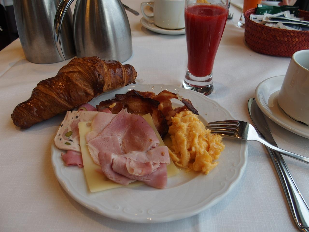 サンセバスチャンホテルロンドレスの朝食