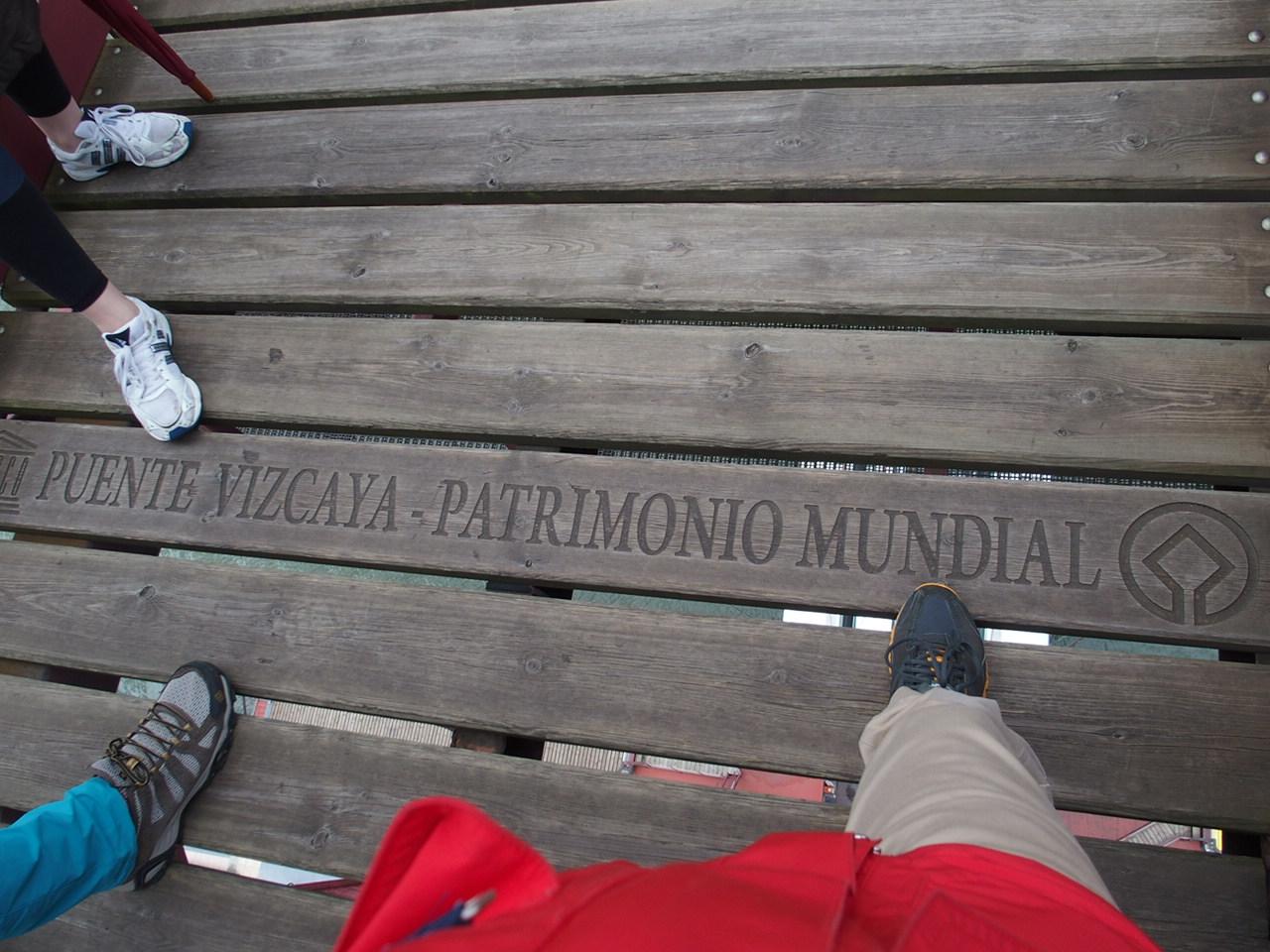 ビルバオ観光世界遺産のビスカヤ橋