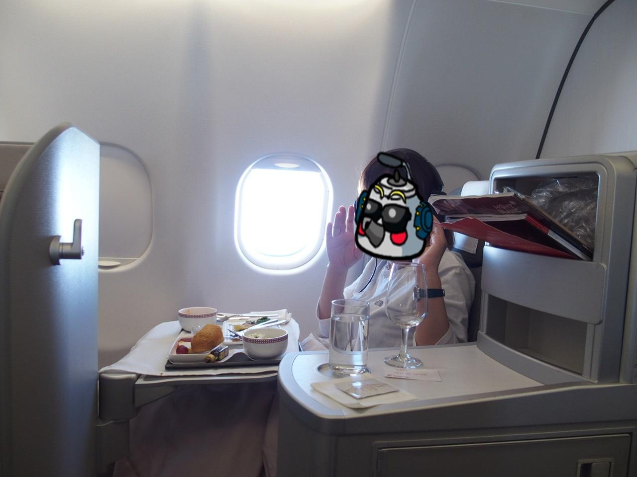 イベリア航空の機内