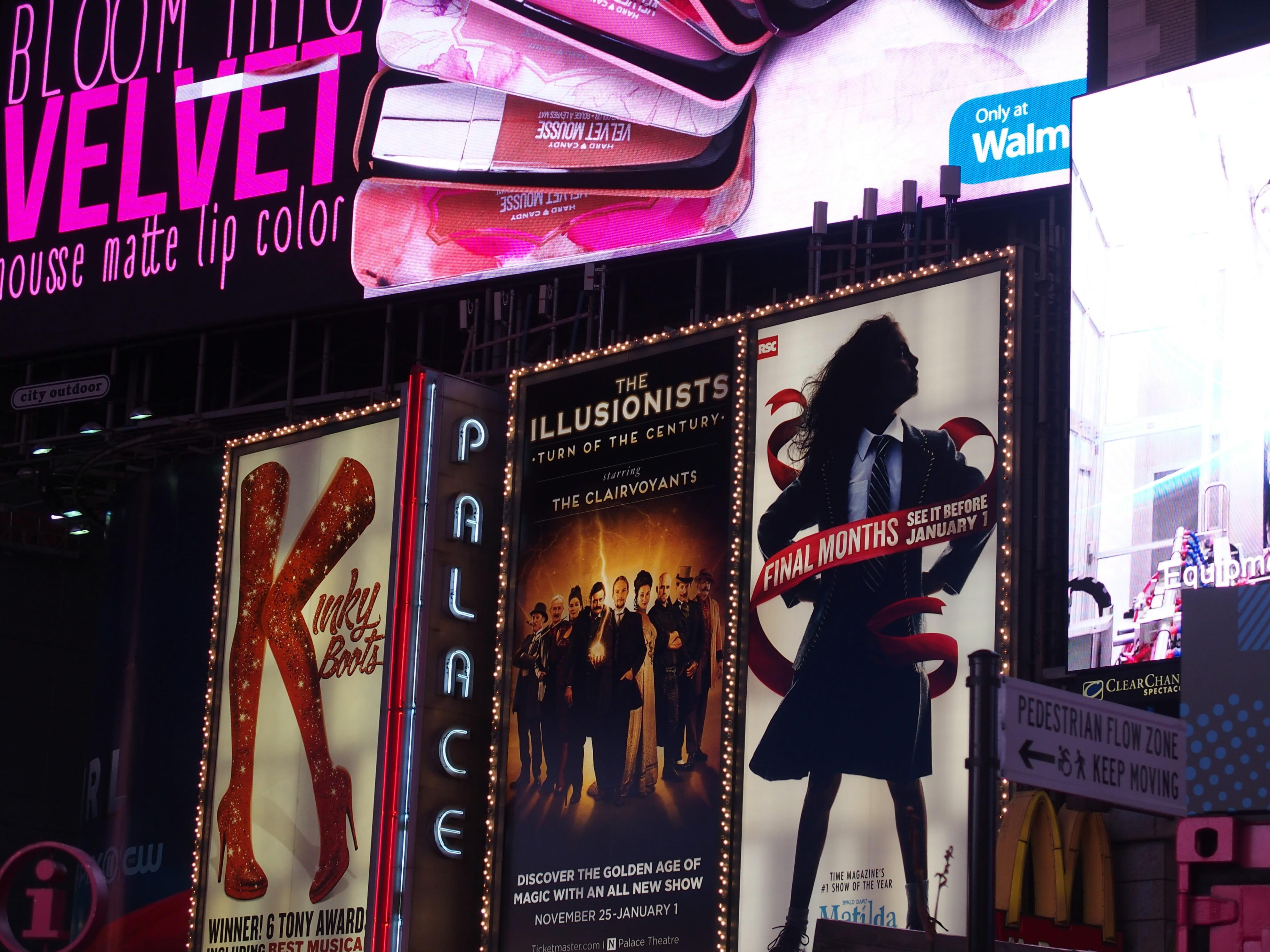 ニューヨークのブロードウェイミュージカルは言葉がわからなくても楽しめます