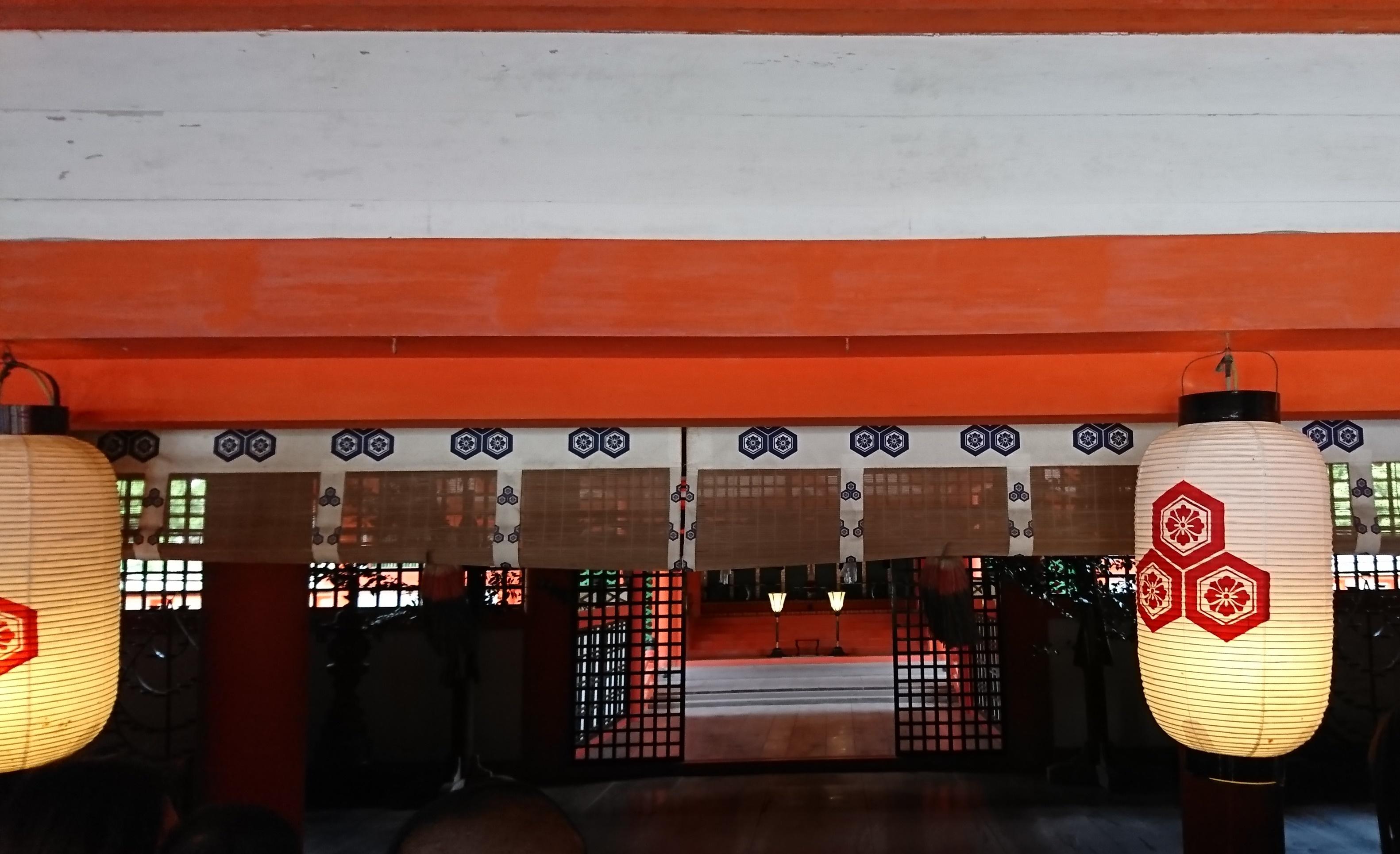 広島県宮島の世界遺産厳島神社