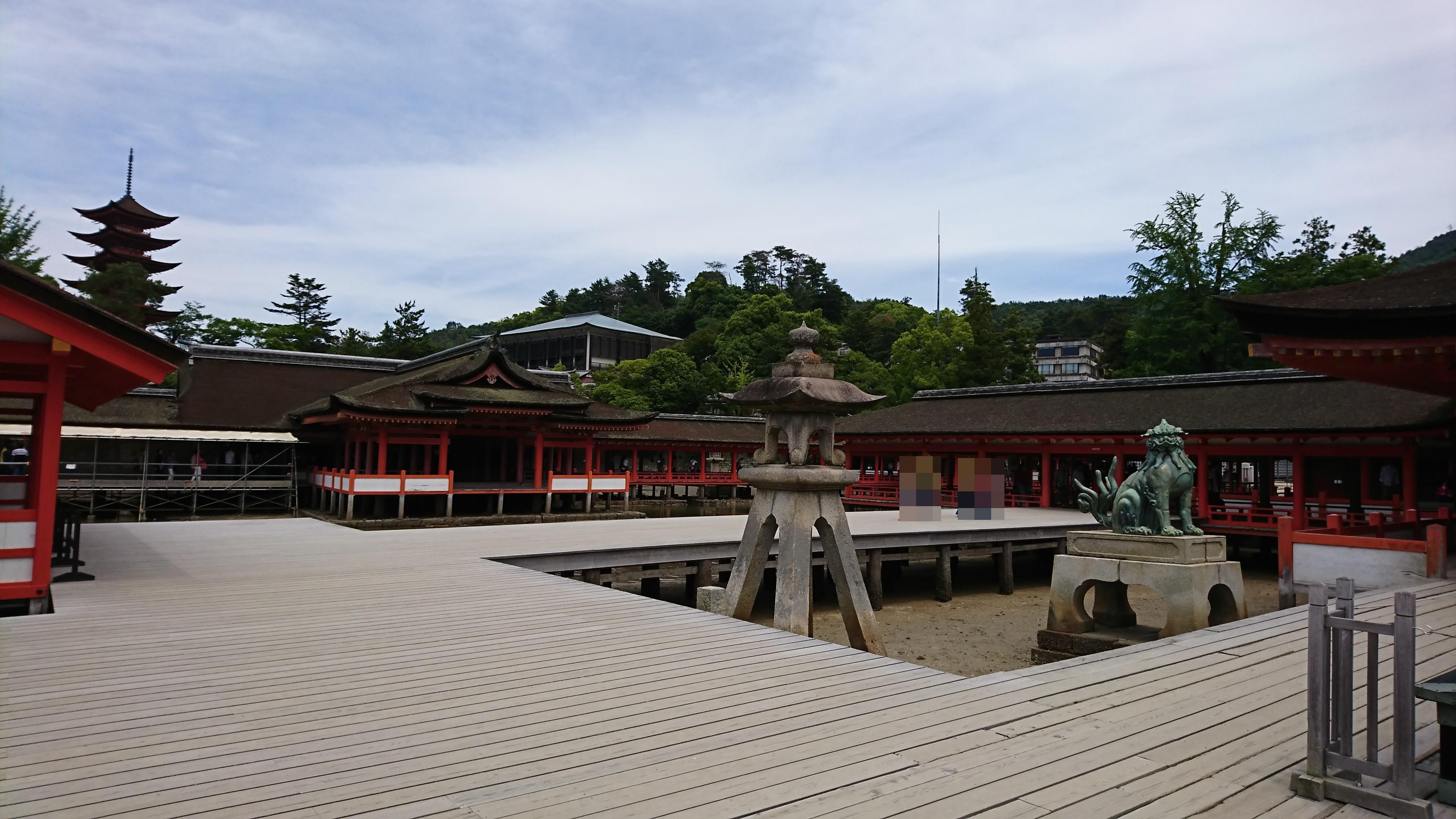 宮島の厳島神社