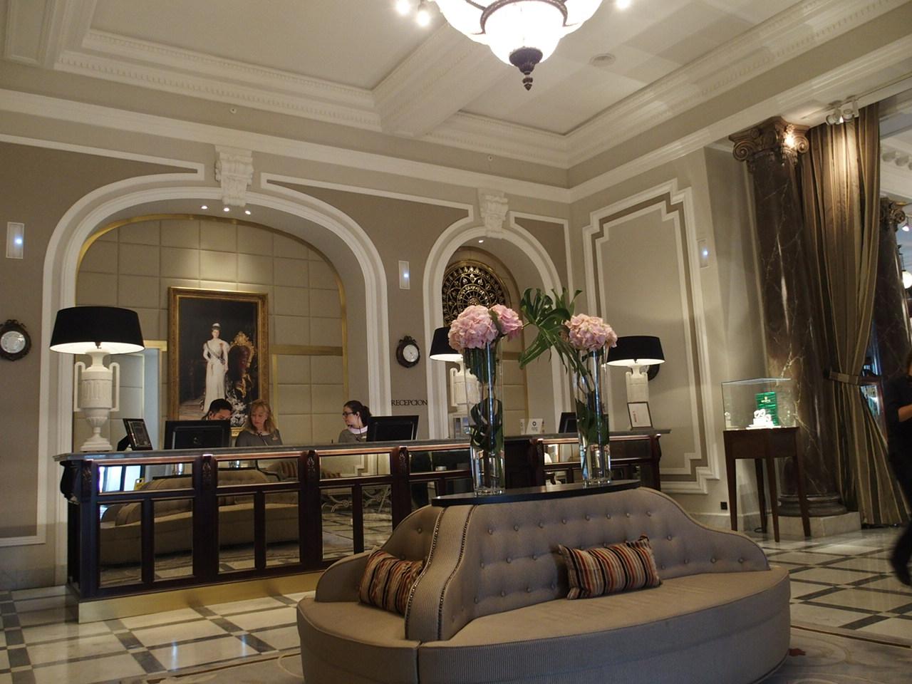 サンセバスチャンのホテルマリアクリスティーナ