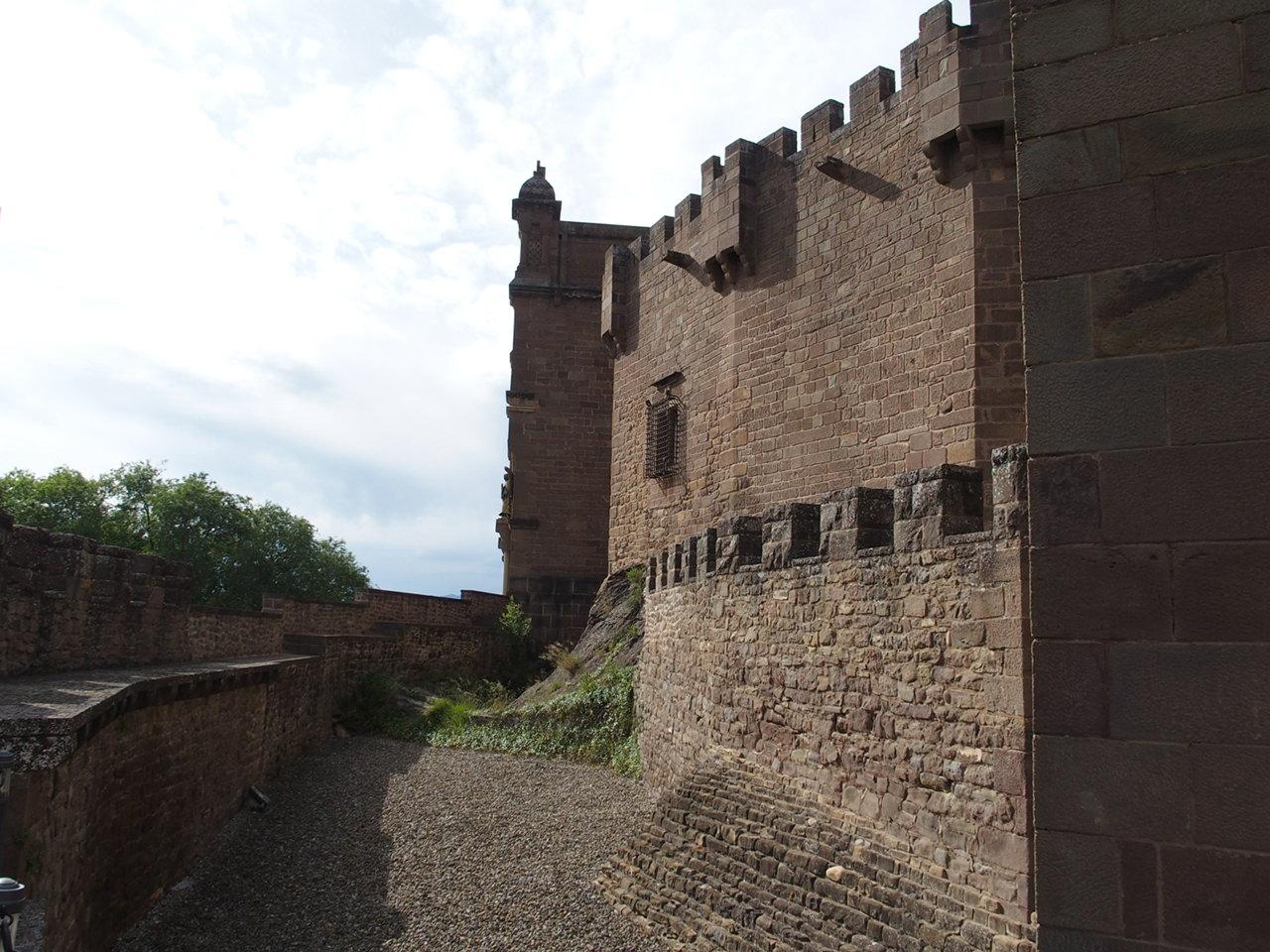 パンプローナのサビエル生誕の城